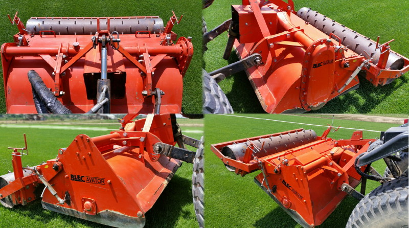 Blec Avator BV130 Stoneburier with nerly new blades in perfect conditions for sale