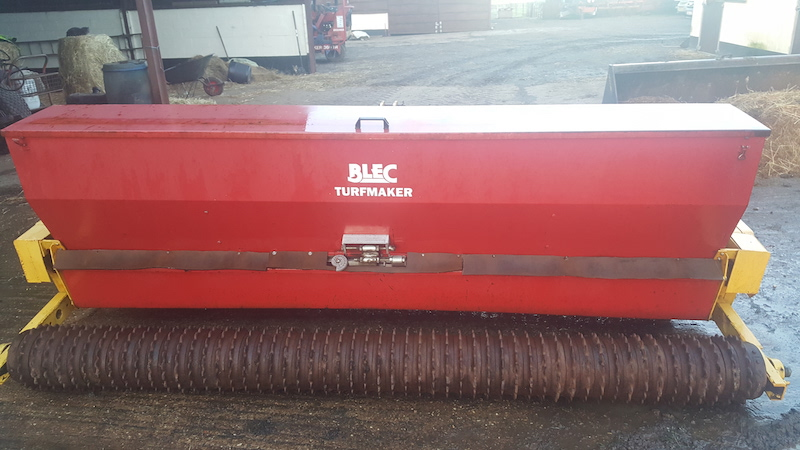 Blec Turfmaker Seed & Drill for sale