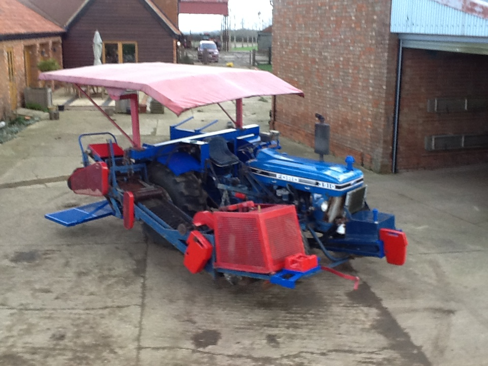 Turf harvester Brouwer ford 3910 NOW SOLD for sale