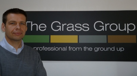 Jeremy takes the helm at The Grass Group for sale